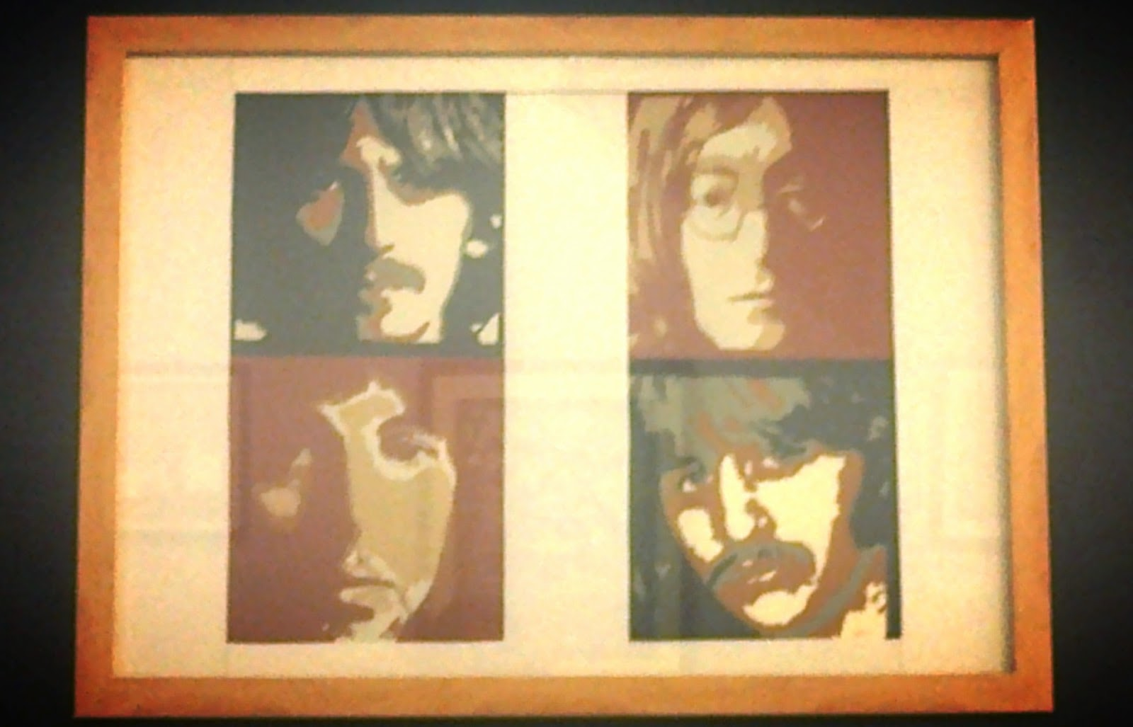 The Beatles papercuts