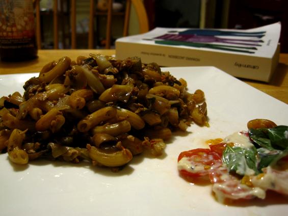 Macaroni chinois végétalien