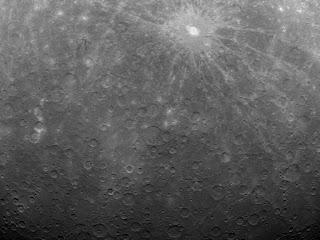 planeta Mercurio y la sonda MESSENGER