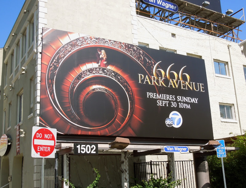 666 Park Avenue billboard Sunset Boulevard