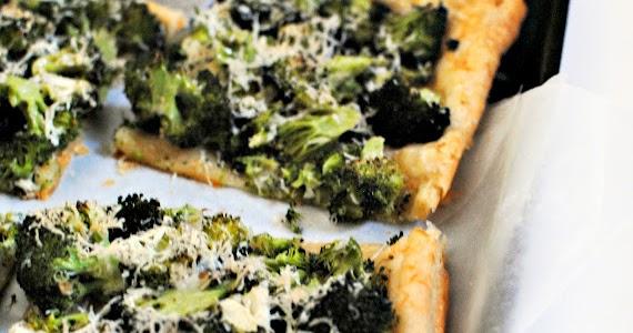 ... Pinch of Salt: Broccoli & Pecorino Tart (Grown-up Trees with Cheese
