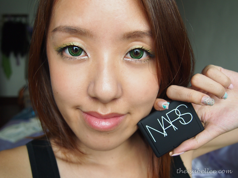 Makeup with NARS Tropical Princess Duo Eyeshadow