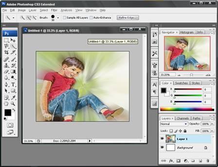 ... Langkah Menggabungkan Photo Dengan Photoshop Cs3 - Graffiti Graffiti