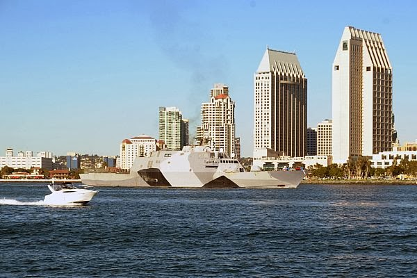 LITTORAL COMBAT SHIP USS FREDOM RETURNS HOME