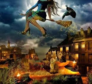 O mundo da bruxa