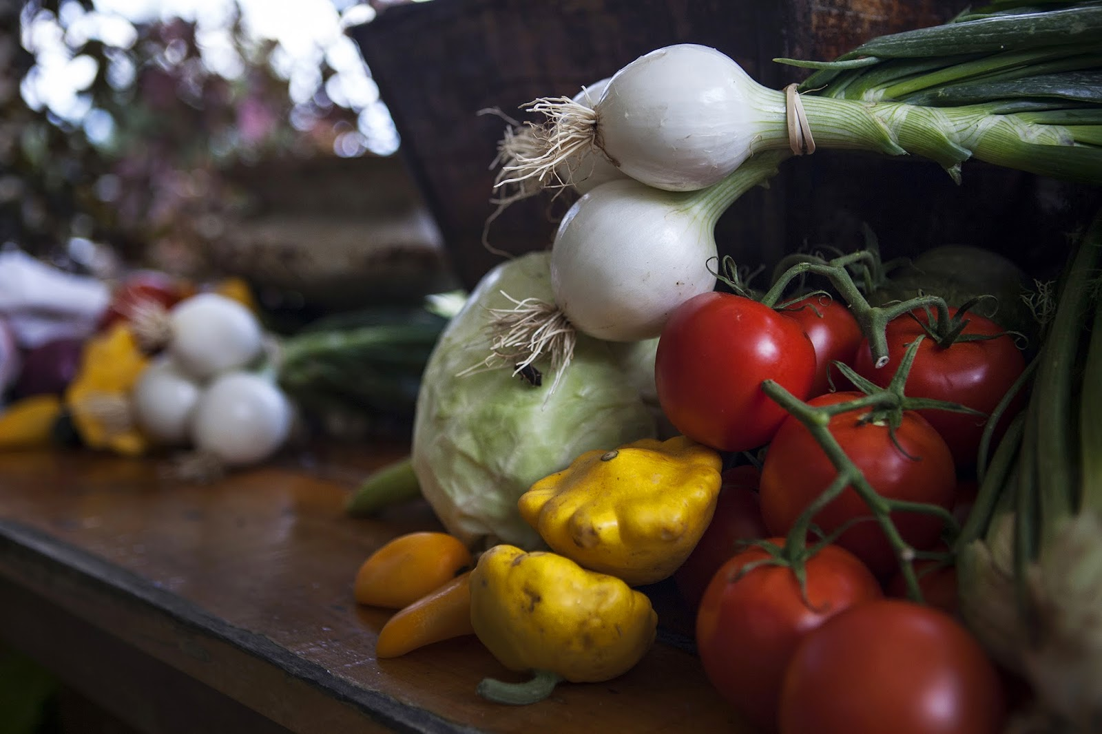 Use produce as filler on your buffet
