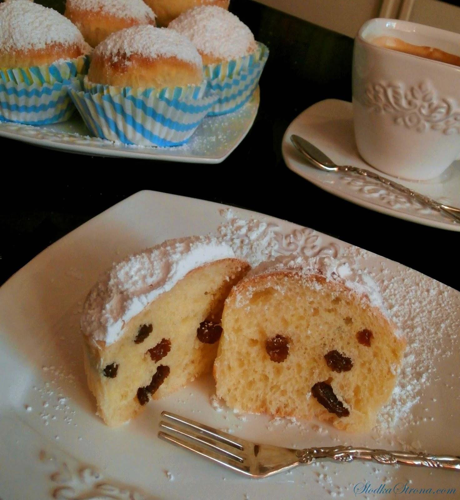 muffinki drozdzowe przepis