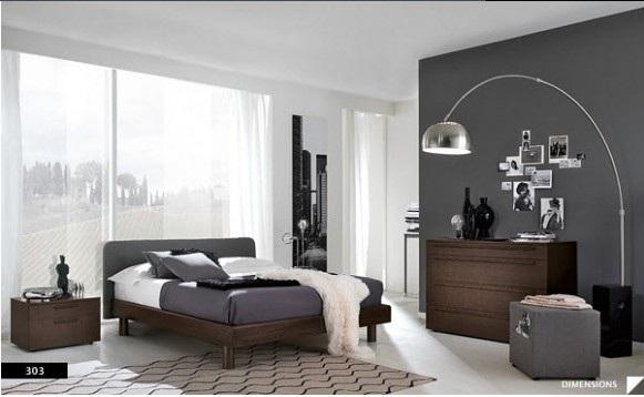 perpaduan warna cat kamar tidur utama cantik kamar minimalis