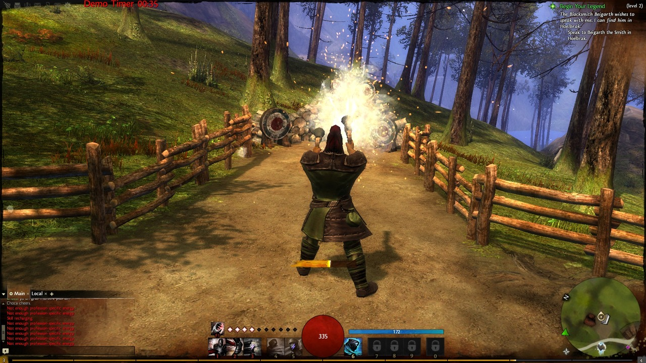 a review of the game guild wars 2 I was a big fan of the original guild wars and all of its expansion packs but i  never got around to playing the second game when it released.