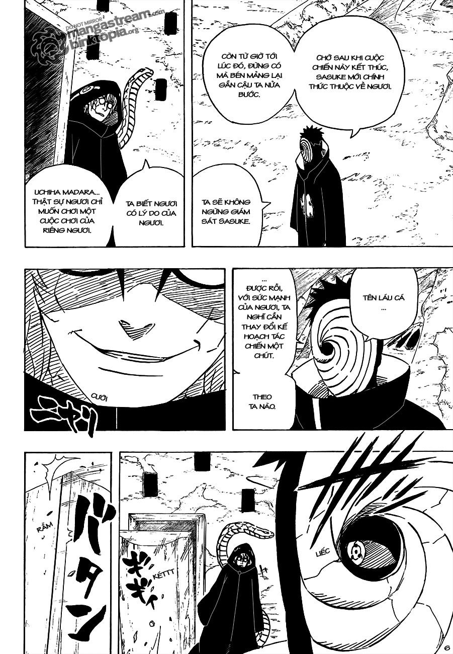 Naruto chap 490 Trang 6 - Mangak.info