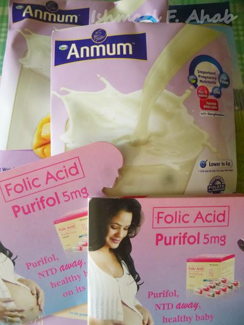 Free milk and folic acid from the ob/gyne