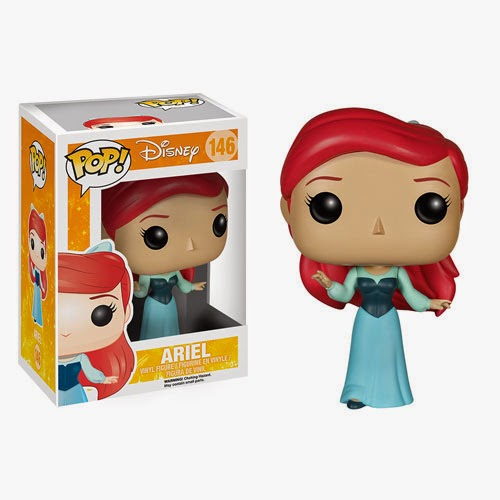 "The Little Mermaid ""Blue Dress"" Ariel Pop! Disney Vinyl Figure"
