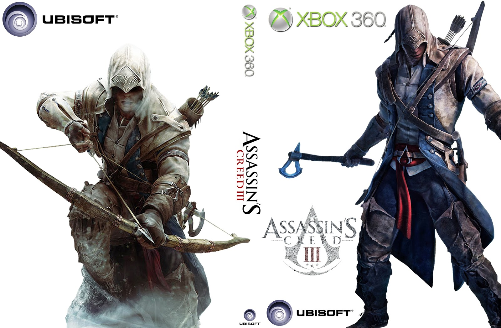 Capa Assassins Creed III Xbox 360