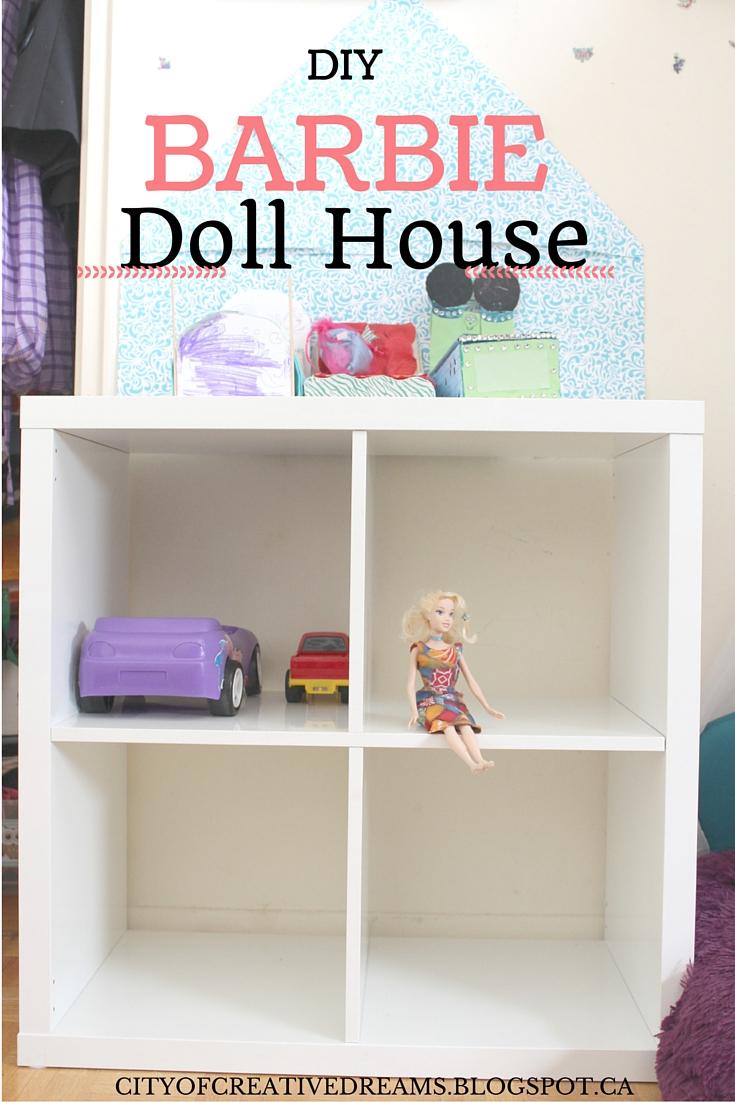 diy affordable barbie house
