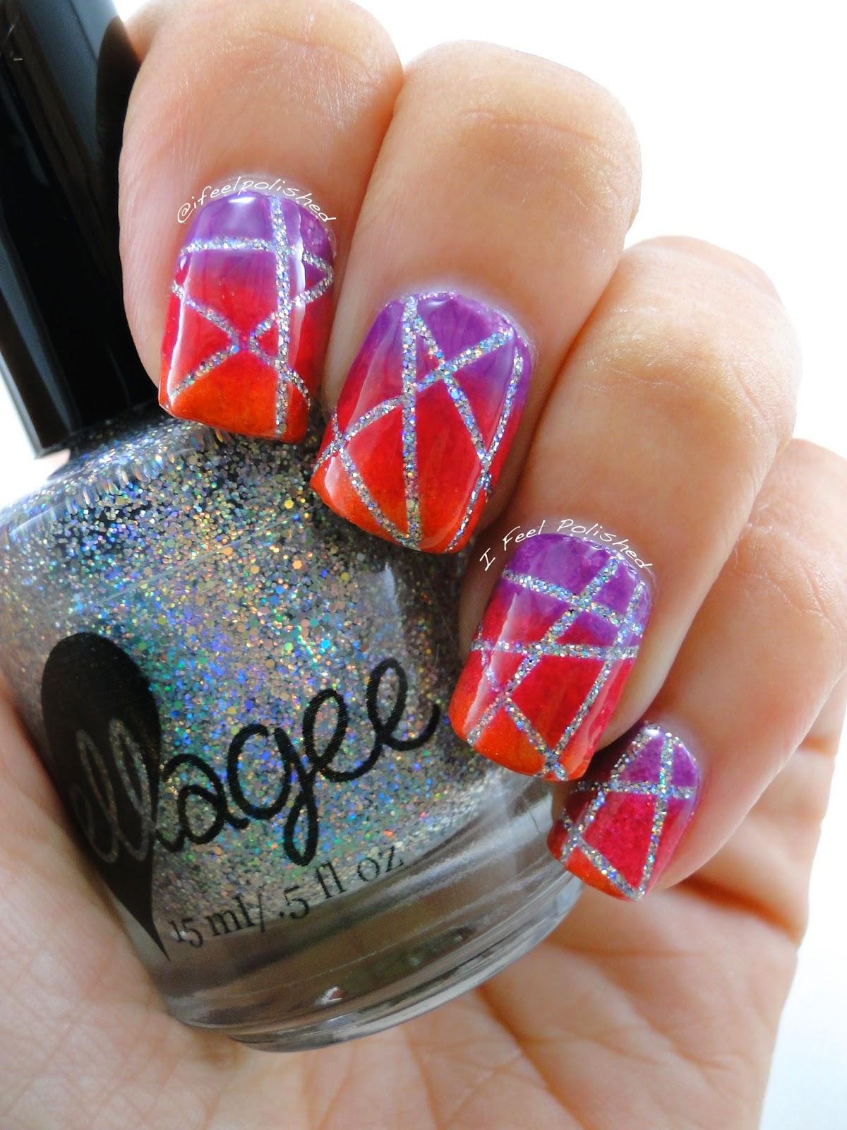 Laser Nail Art