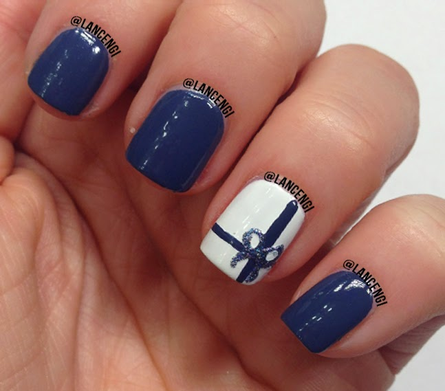 Finger Nail Paint: LancenGi: DIY Easy Cute Christmas Gifts Nail Art Polish