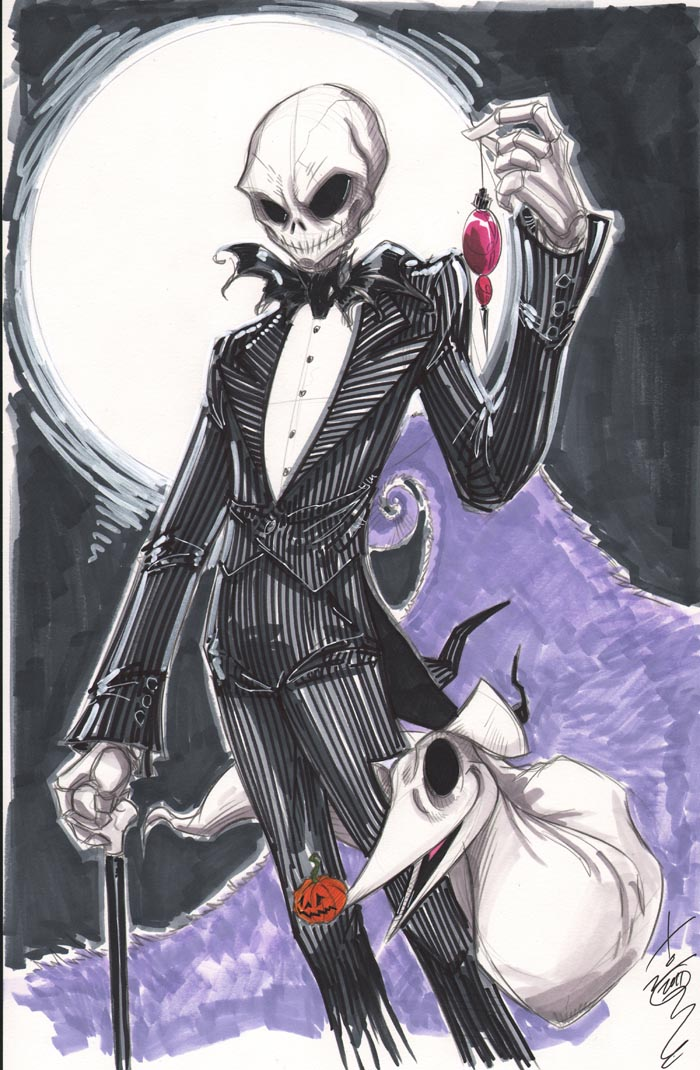 Fashion and Action Mr. Skellington , Nightmare Before