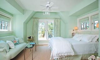 mint green decoracao quarto