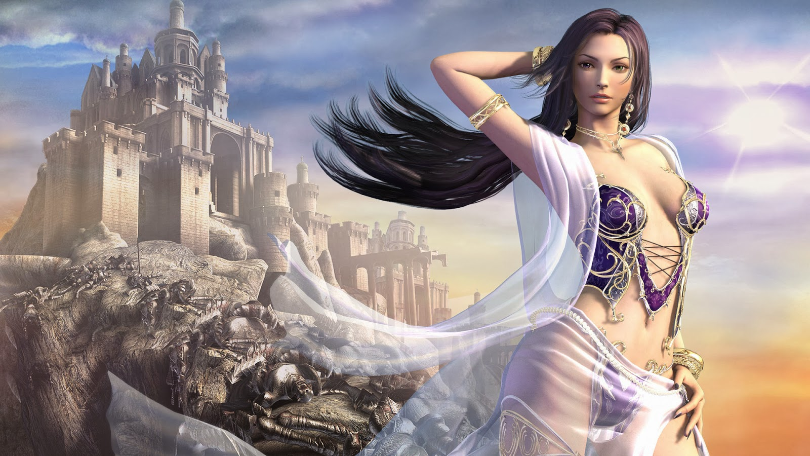 3D Fantasy Girls HD Wallpapers