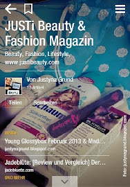 JUSTi's Beauty & Fashion Magazin