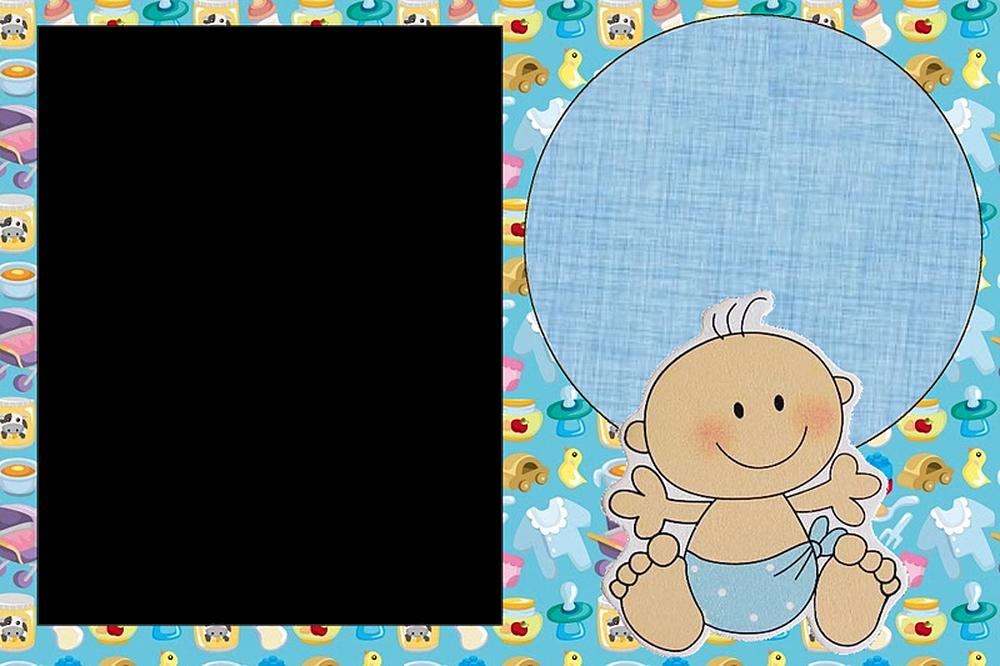 Delicados marcos de fotos de beb s y ni os marcos gratis - Marcos redondos para cuadros ...
