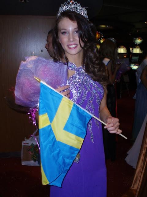 Miss World Sweden 2013 winner Agneta Myhrman