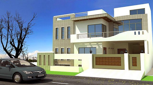 Best Modern homes exterior designs front views pictures Ideas ...