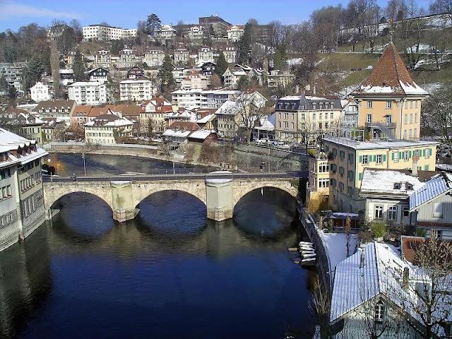 معالم سياحية حول جسر  نيديج بسويسرا