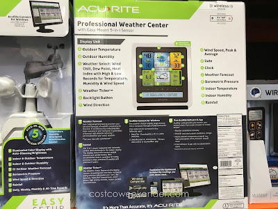 AcuRite Professional Weather Center – Be more accurate than your local meteorologist