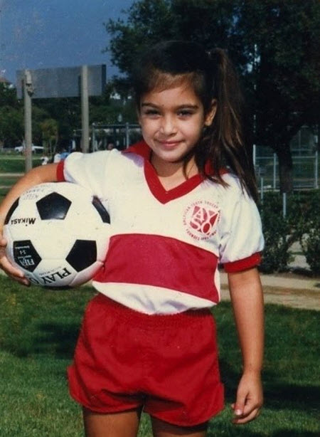 Kim Kardashian: Fotos de su infancia