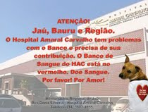 ATENÇÃO JAÚ, BAURU, MARÍLIA E REGIÃO!