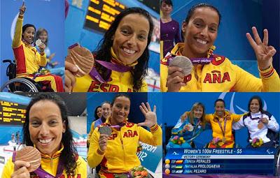 Perales logra ocho medallas en Londres 2012