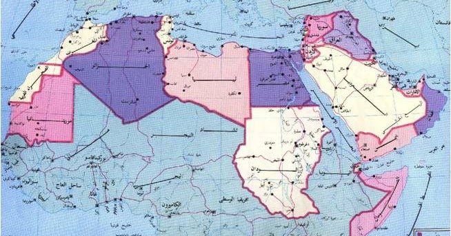 العالم العربي المسطحات المائية في الوطن العربي