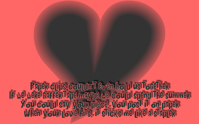 Elastic Love - Christina Aguilera Song Lyric Quote in Text Image