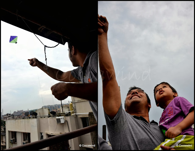 Kite Flying in Kolkata
