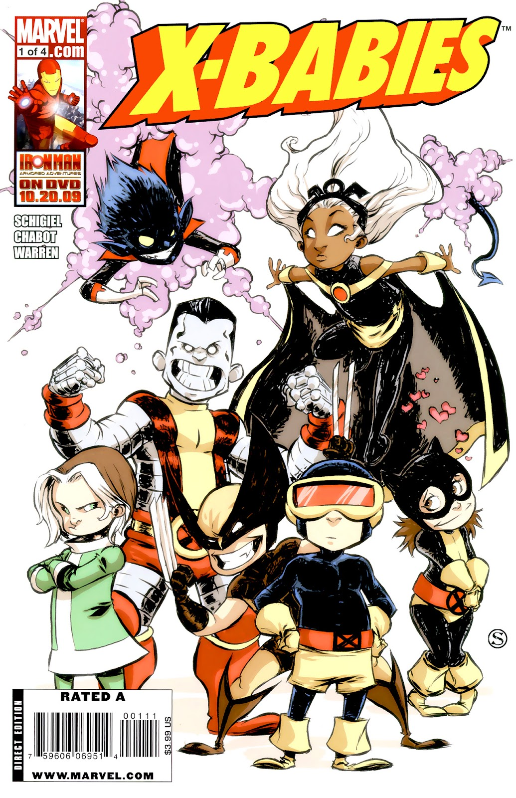 Read online X-Babies comic -  Issue #1 - 1