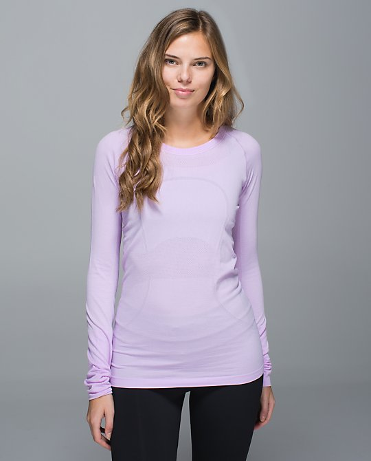 lululemon pretty-purple swiftly ls