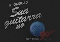 Promoção Sua guitarra no Rock in Rio SKY
