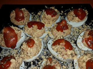 Huevos Rellenos De Sardinillas