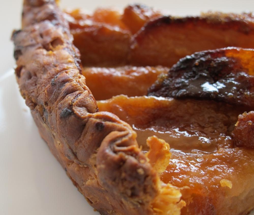 Raids p tisseries la tarte aux pommes caram lis es de st phane secco - Feuillete aux pommes caramelisees ...