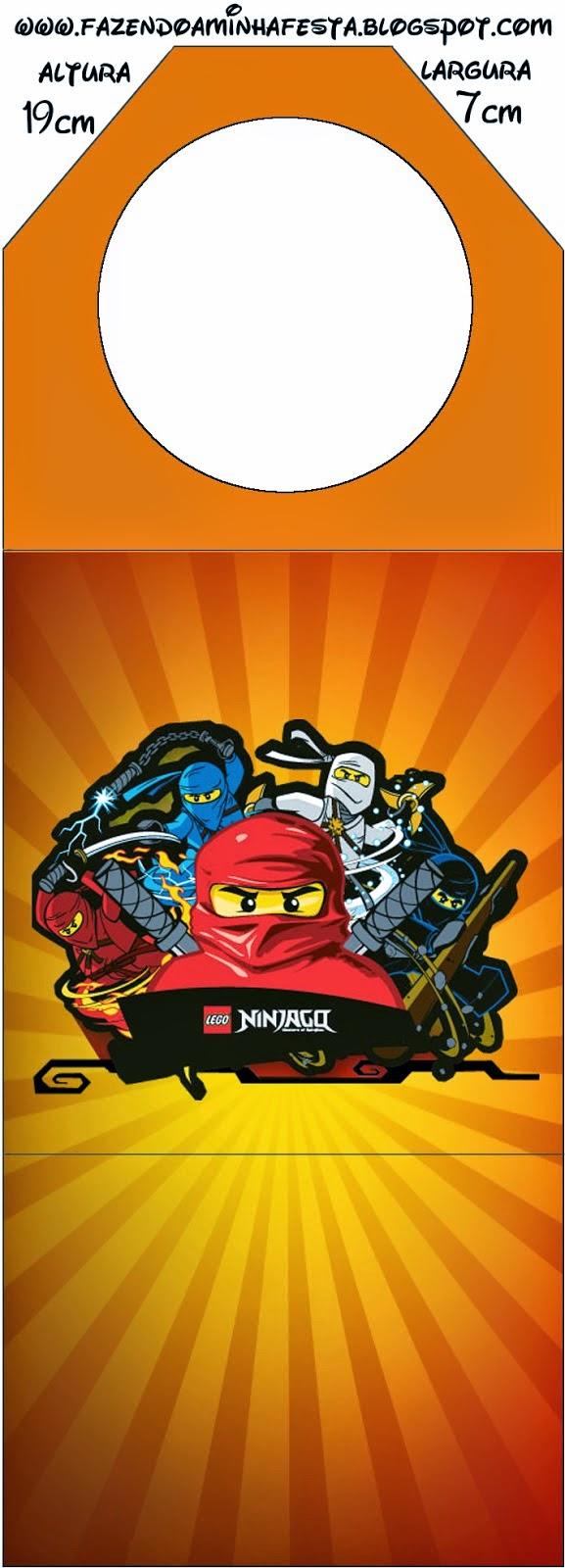 Para Marcapaginas de Ninjago.