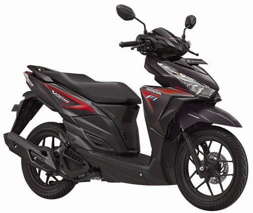 Honda Vario 150 Esp Titanium Black