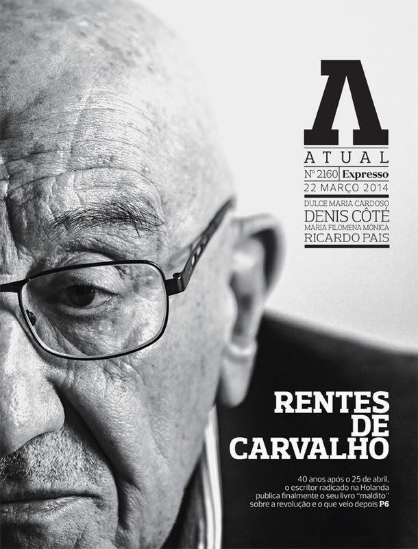 José Rentes de Carvalho, Portugal a Flor e a Foice, Entrevista Revista Atual Expresso, José Mário Silva
