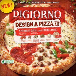 New Higher Value Coupon: $1.50/1 DiGiorno Design A Pizza Kit