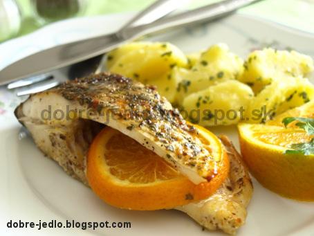 Kapor na pomarančoch - recepty
