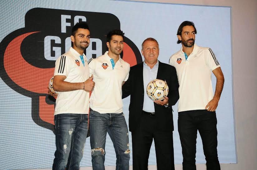 FC Goa-Unveils Virat Kohli