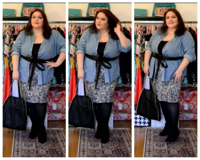 outfit plus size ladylike consigli di stile curvy