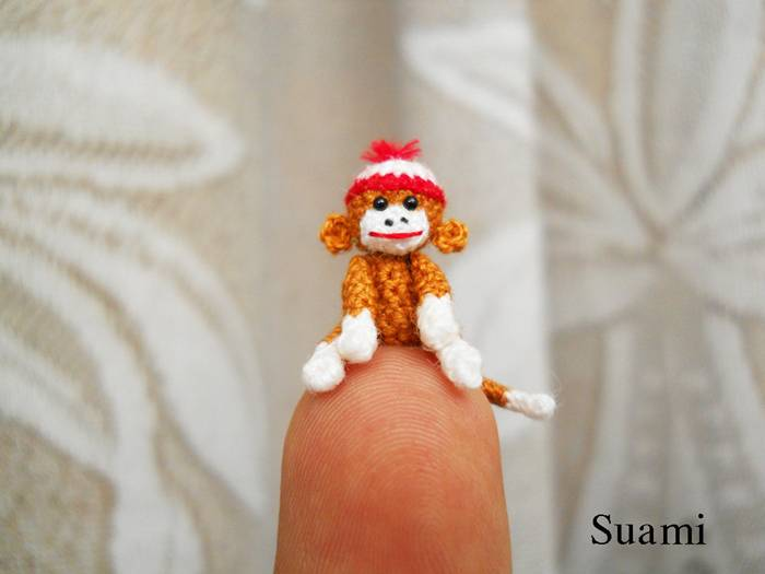 Cute Miniature Crocheted Animals by Su Ami