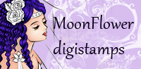 MoonFlower Digi Stamps
