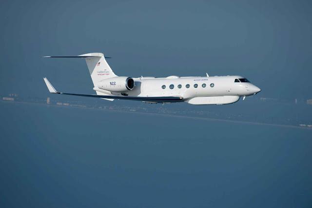 Gulfstream G550 JSTARS testbed
